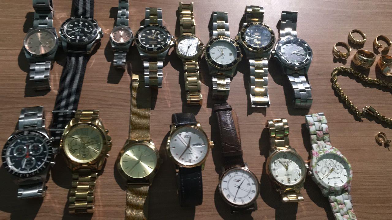 b6c74bbed25 Quadrilha especializada em roubo de relógios é presa  ações aconteciam no  Batel e bairros nobres de SP e RJ