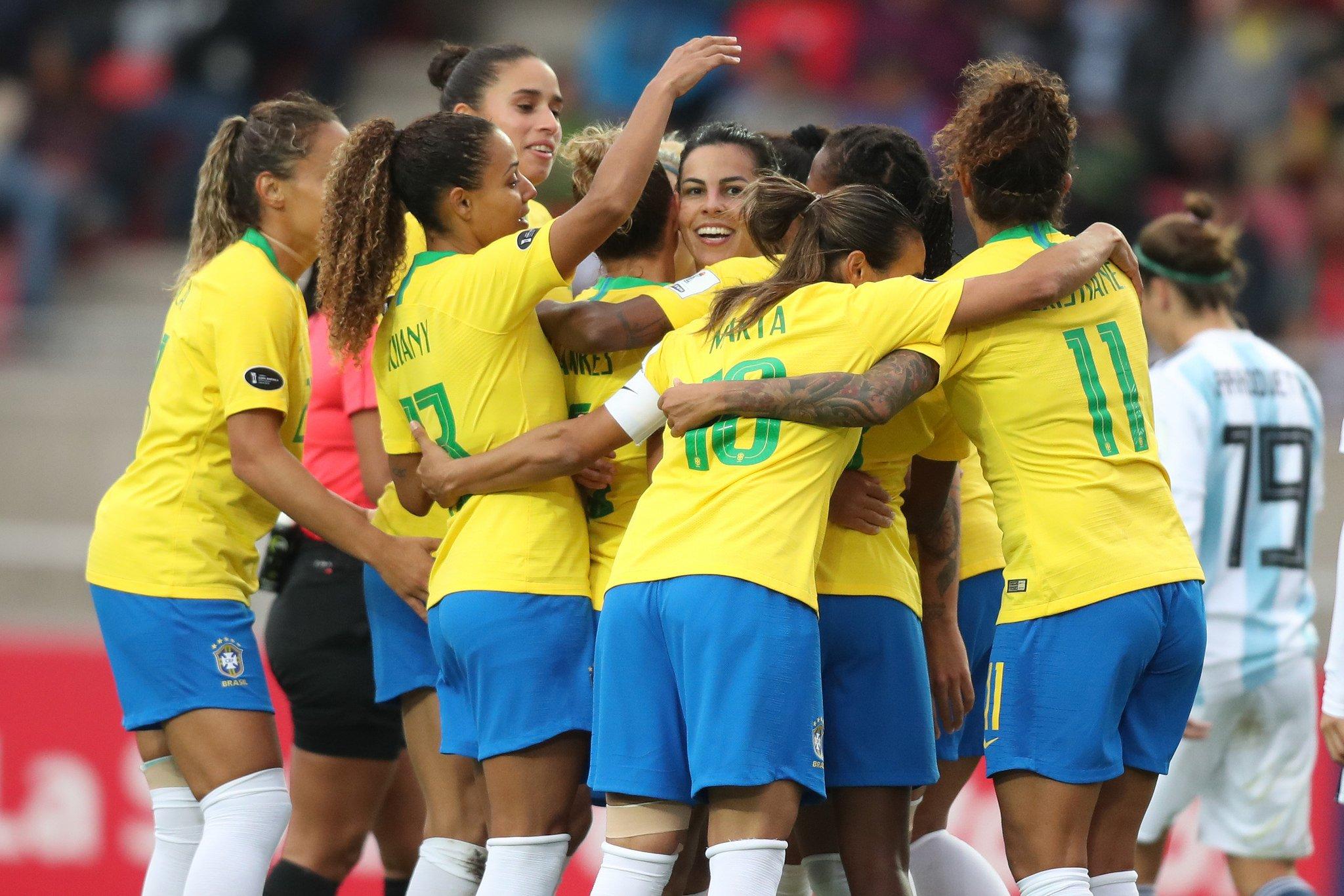 1b26b97100906 Seleção feminina disputará a Copa do Mundo em 2019. (Lucas Figueiredo CBF)