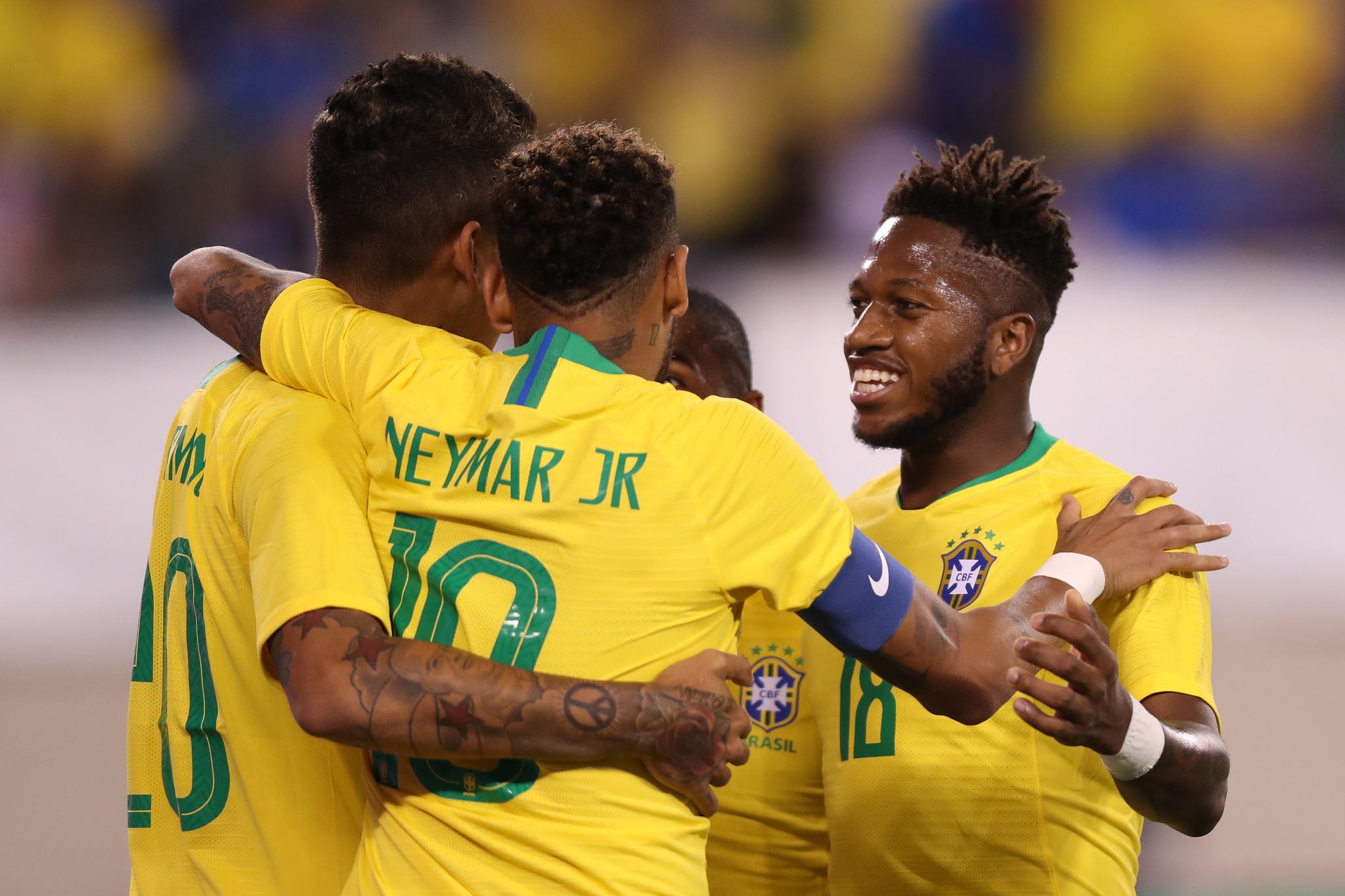 Seleção venceu os EUA no primeiro amistoso pós-Copa (Lucas Figueiredo CBF) 766acb3e2f350