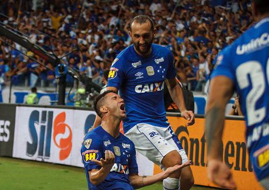 fe9c038211 Thiago Neves marcou o gol da vitória do Cruzeiro. (Divulgação Cruzeiro)