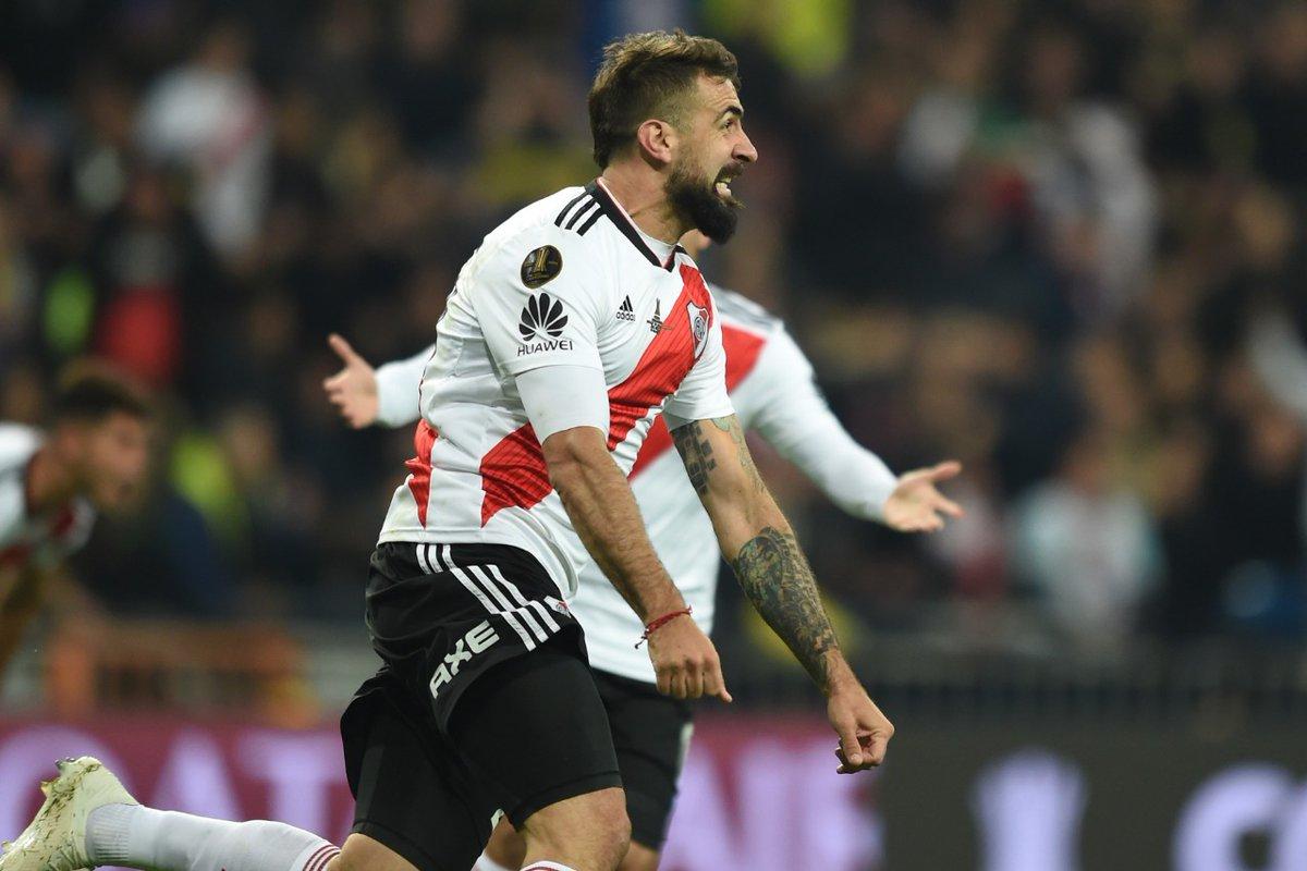 9b3de3fba9 Lucas Pratto foi o artilheiro do River na Libertadores. (Divulgação River  Plate)