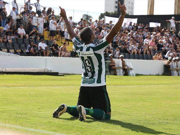 b541d11bbd441 Rodrigão estreou com gol marcado em Ponta Grossa (Divulgação Coritiba)
