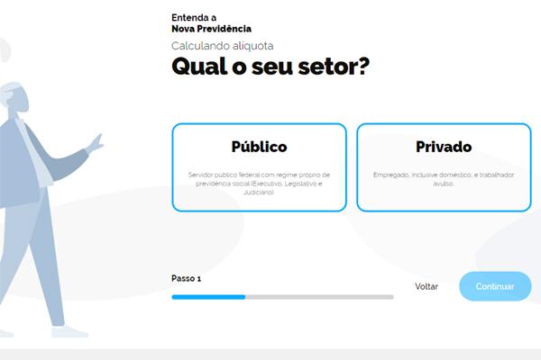 Bolsonaro usa conta no Twitter para divulgar calculadora da