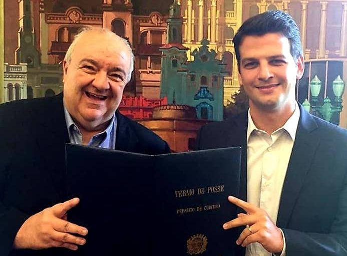 Pimentel diz que quer manter parceria com Greca e descarta ser vice de qualquer outro