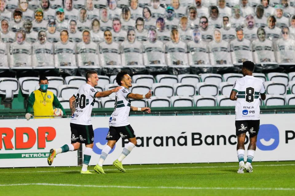 Coritiba está invicto jogando no Couto Pereira em 2020. (Geraldo Bubniak/AGB)