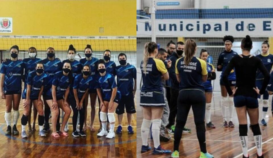 Curitiba Vôlei e São José dos Pinhais são os representantes paranaenses na Superliga. (Reprodução/Instagram)