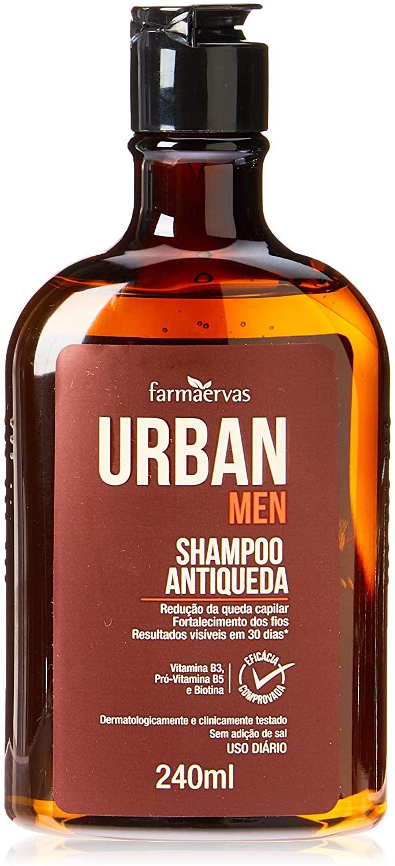 Shampoo Antiqueda Urban Men 240Ml