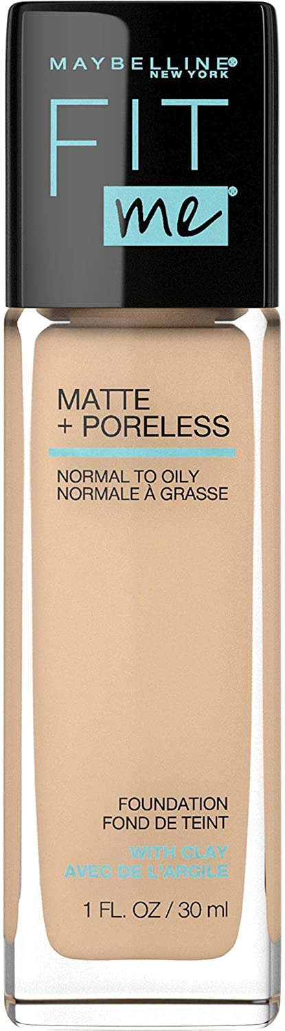 Base Para Roso Maybelline Fit Me Mate+Poreless