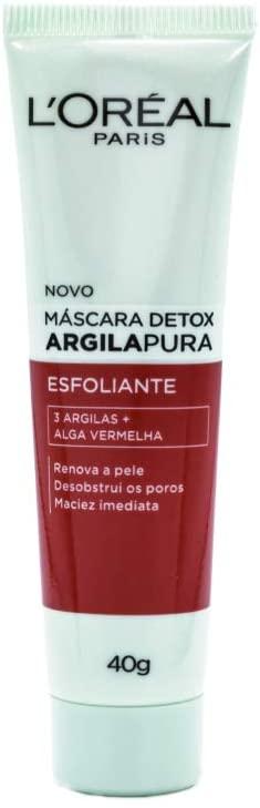 Máscara Detox Esfoliante de Argila Pura