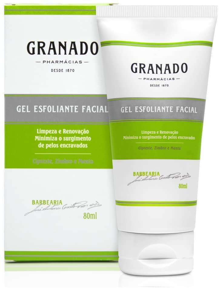 Gel Esfoliante Facial, Granado, Verde