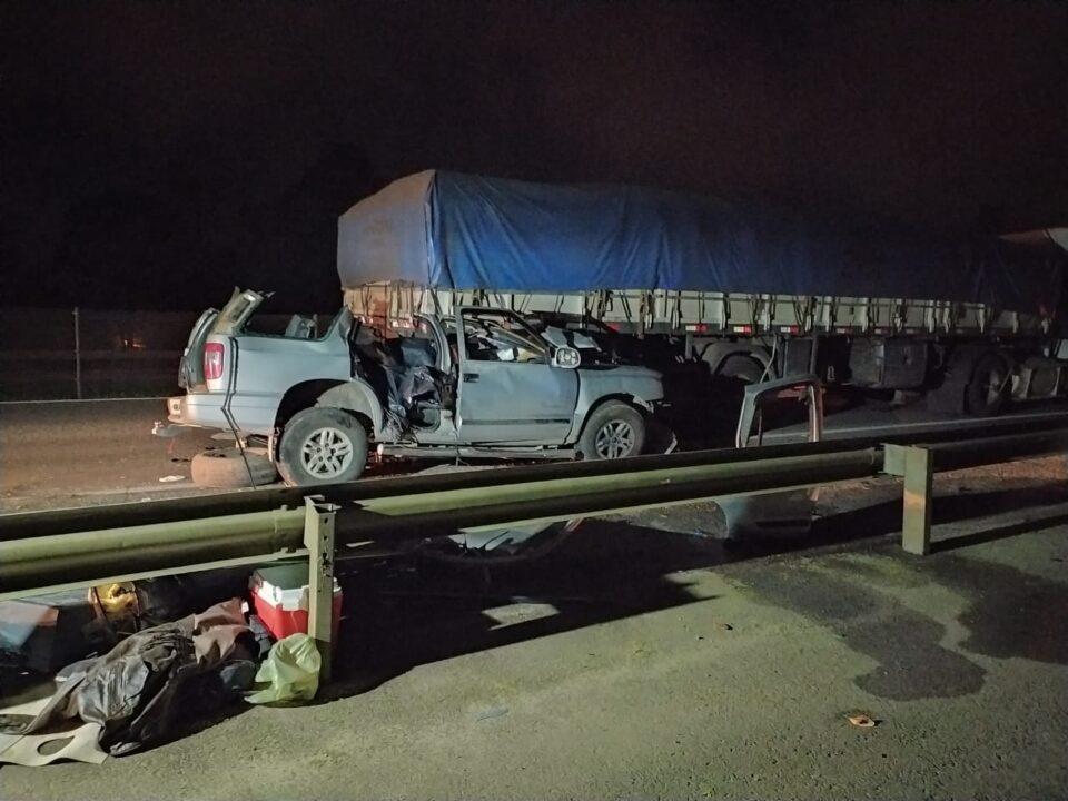 acidente fatal com quatro pessoas