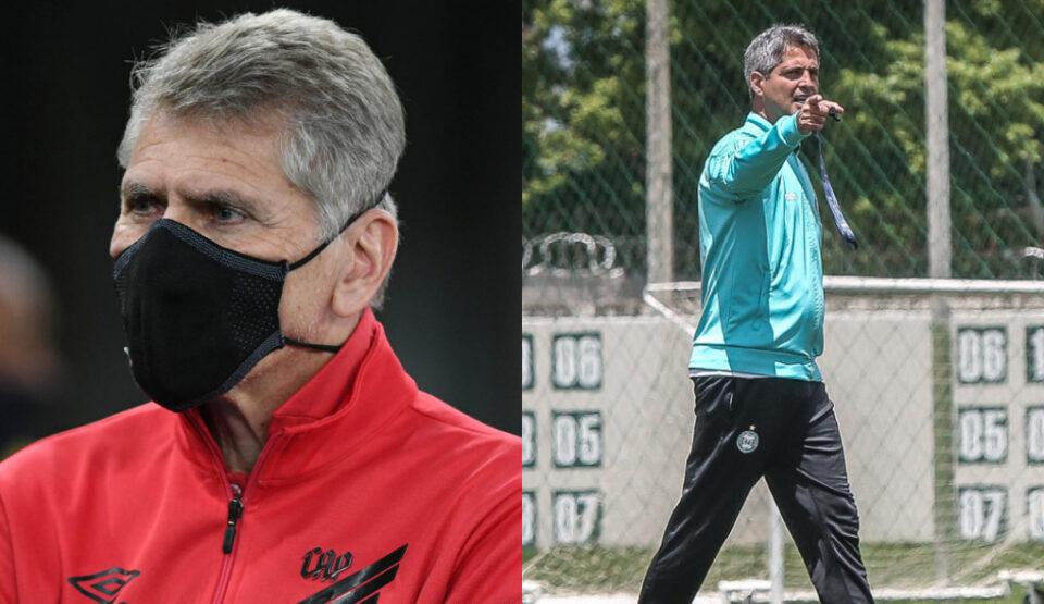 Técnicos Athletico e Coritiba - Brasileirão