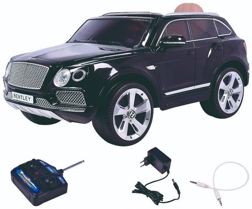 Mini Carro Elétrico Infantil Bentley Bentayga Preto