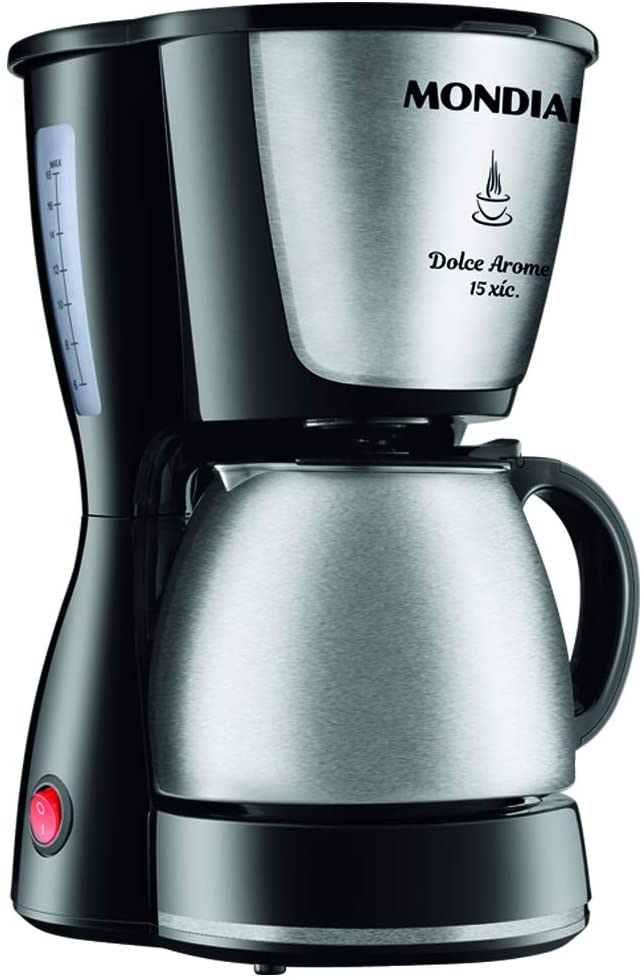 Cafeteira Dolce Arome Inox, Mondial