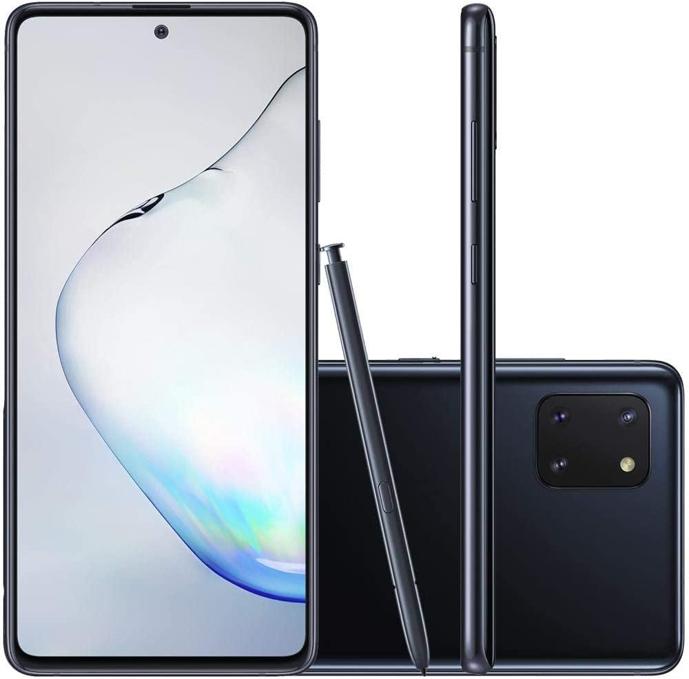 Celular Samsung Galaxy Note 10 Lite Preto 6gb 128gb Caneta
