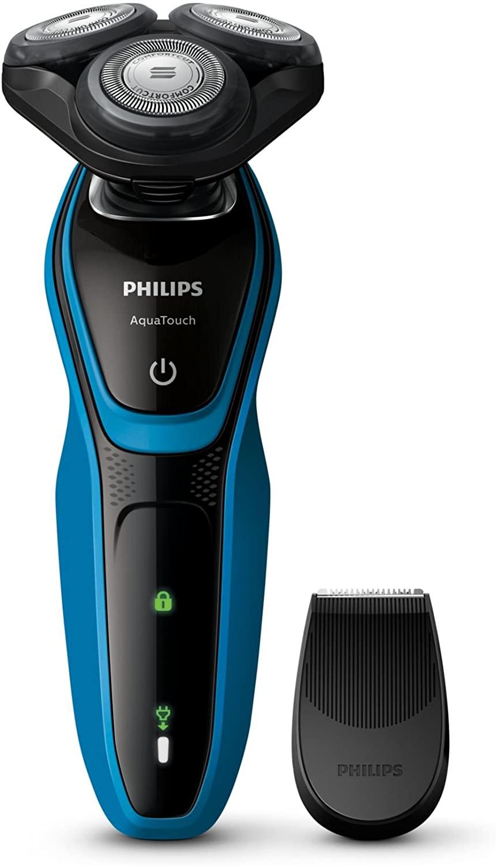 Barbeador Serie 5000, Philips, Aquatouch