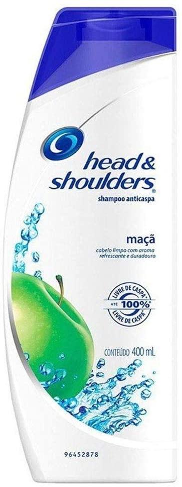 Shampoo de Cuidados com a Raiz Head & Shoulders Maçã 400Ml, Head & Shoulders