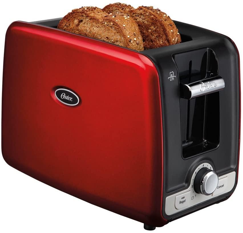 Torradeira Square Retro Toaster Vermelho, 110v, Oster