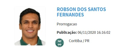 Robson - Coritiba