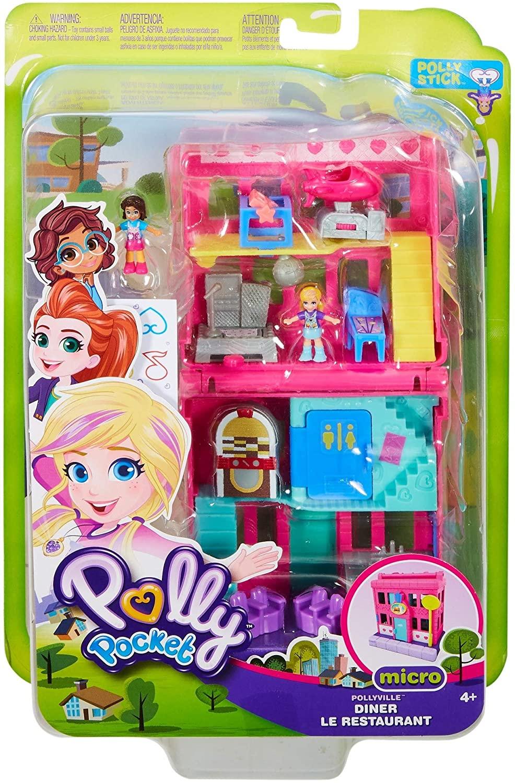 Salão de Jogos Pollyville Polly Pocket Micro