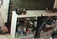 ladrões roubam loja de celulares