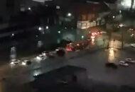 noite de chuva em Curitiba
