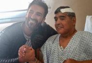 Maradona tem foto polêmica