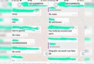 menina recebe mensagens de ódio