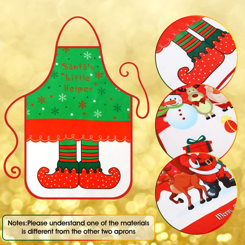Avental de Natal 3 Peças