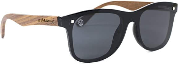 Óculos de Sol Frente Flat Barker, MafiaWood
