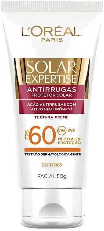 Protetor Solar Facial FPS 60, L'Oréal Paris
