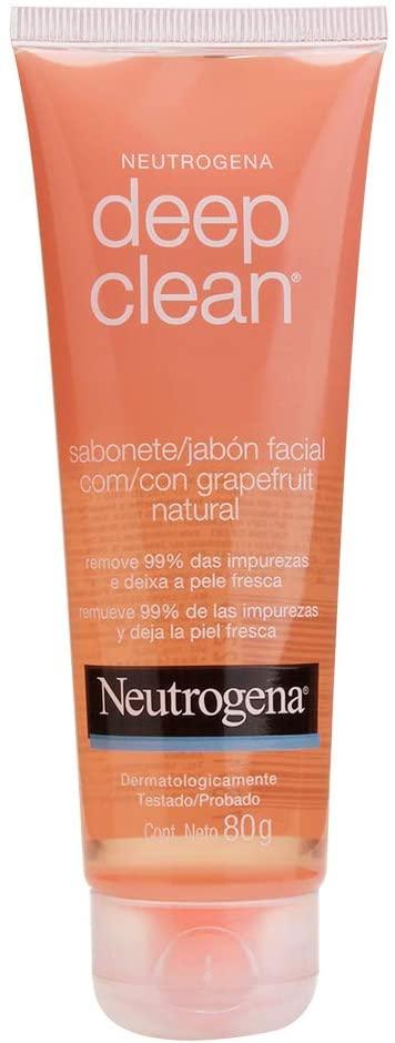 Sabonete Facial Deep Clean Grapefruit, Neutrogena