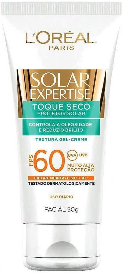 Protetor Solar Facial com Toque Seco Fps