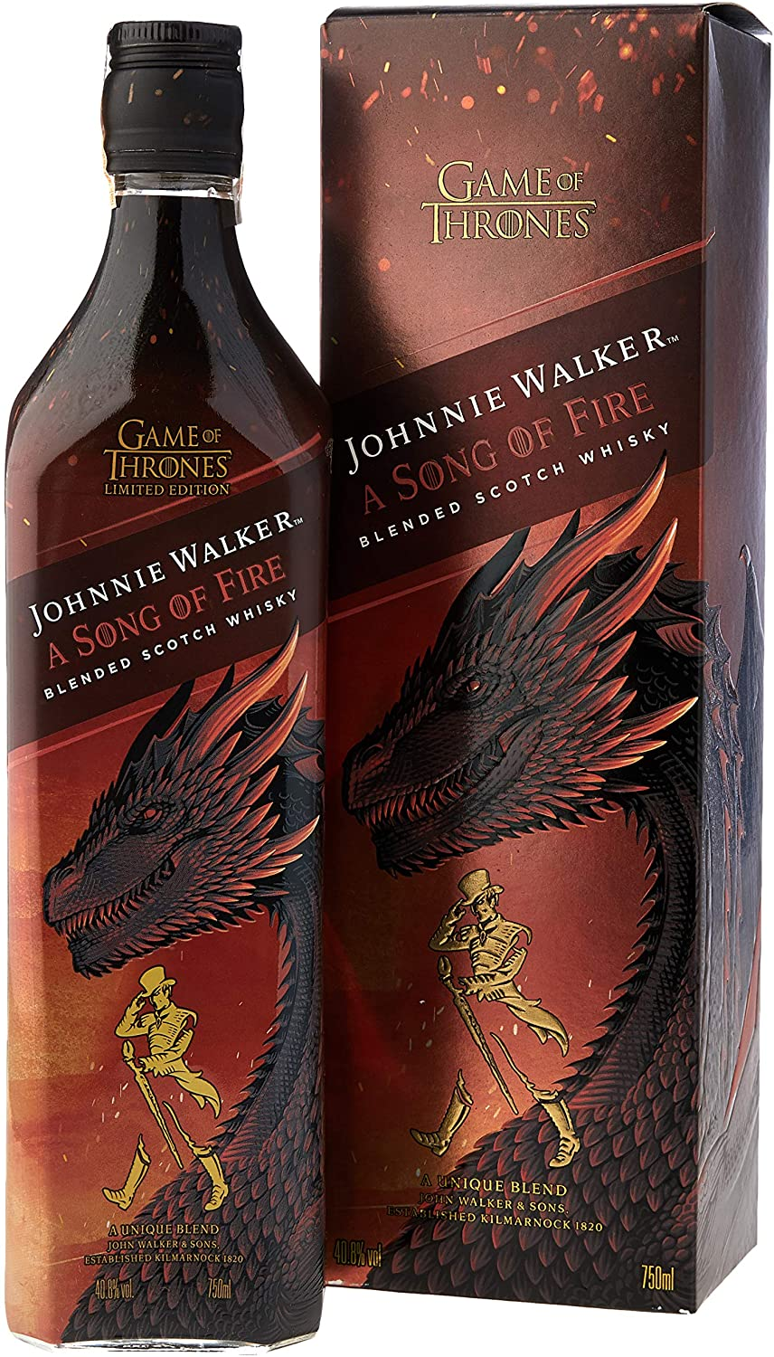 Whisky Johnnie Walker Song Of Fire