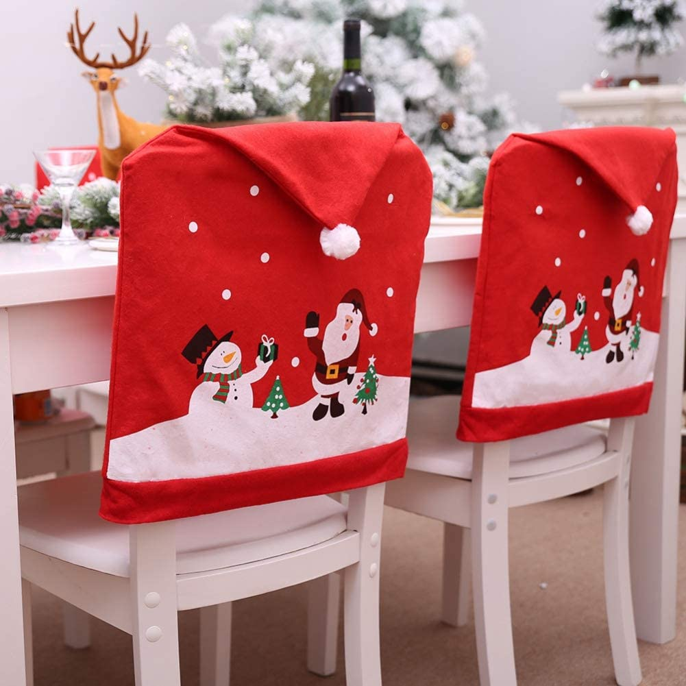 Conjunto de Capas para Cadeira de Natal Handfly