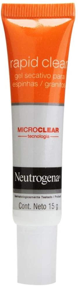 Gel Secativo Rapid Clear Facial, Neutrogena