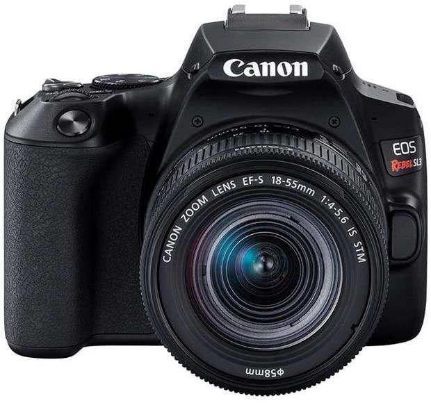 Câmera Canon SL3 DSLR com 24.1MP