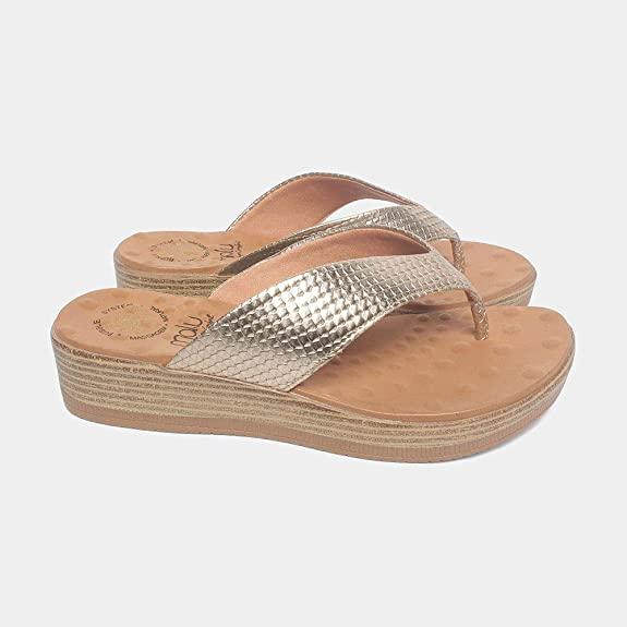 Sandália de Dedo Malu Super Comfort 36