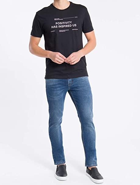 Camiseta Positive Calvin Klein