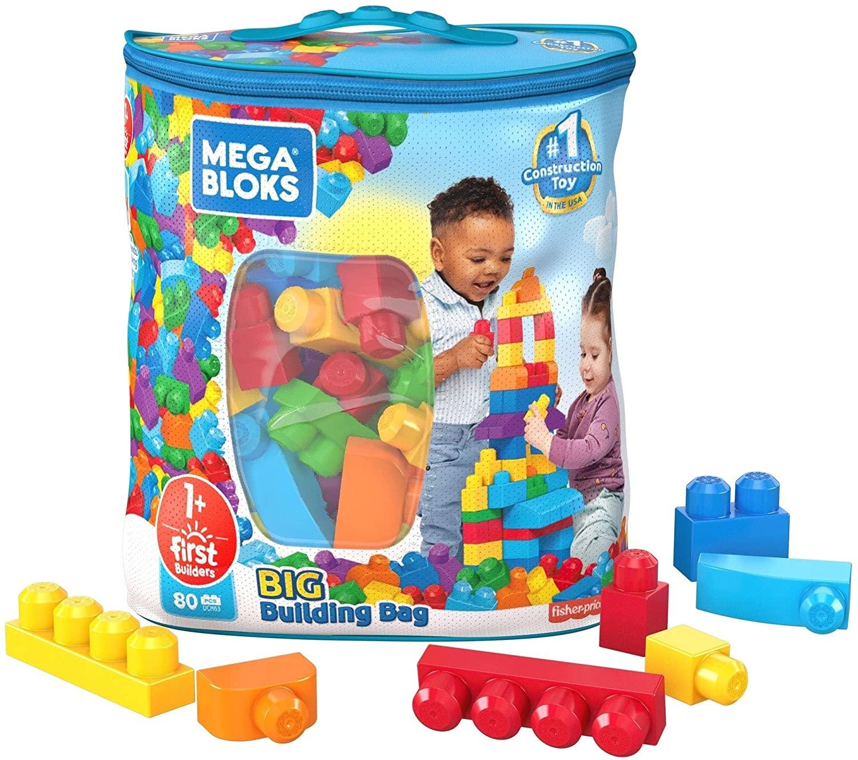 Mega Bloks Sacola de 80 Blocos
