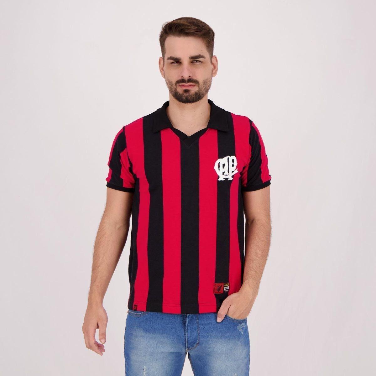 Camisa Athletico Paranaense Retrô 1990