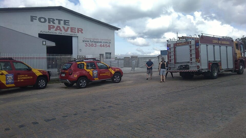 Trabalhador cai em triturador de cimento e morre em São José dos Pinhais