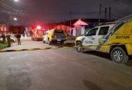 Policiais militares mataram um suspeito em uma troca de tiros