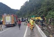 acidente ocoreu no início da manhã desta segunda-feira (25