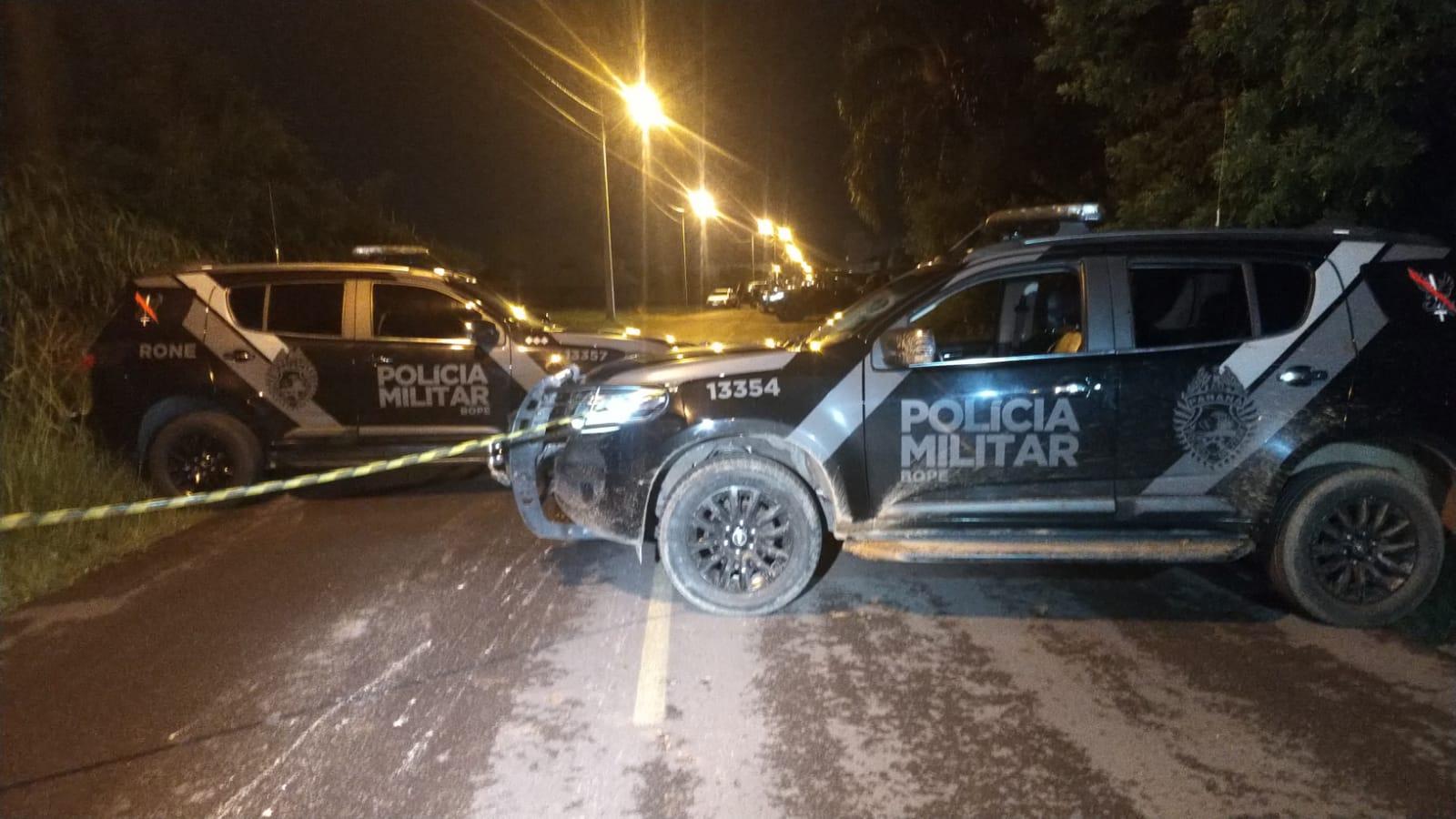 Quadrilha de SP vem roubar concret em São José dos Pinhais e 5 morrem em confrontos