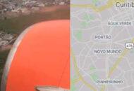 Jato da Gol entrou em rota de colisão com outro jato do Governo do Paraná