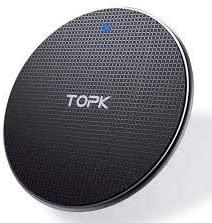Carregador Sem Fio Wireless Qi Indução Samsung iPhone Turbo Rápido